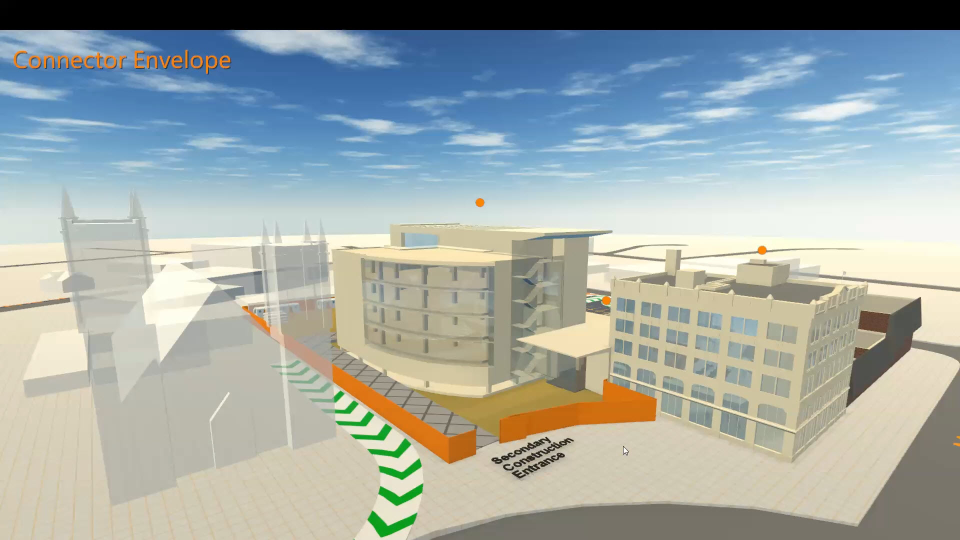 Interactive 3D presentation for construction phasing